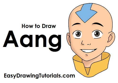 How to Draw Aang Avatar
