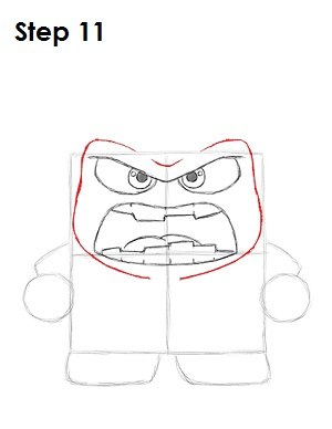 Draw Anger Inside Out 11