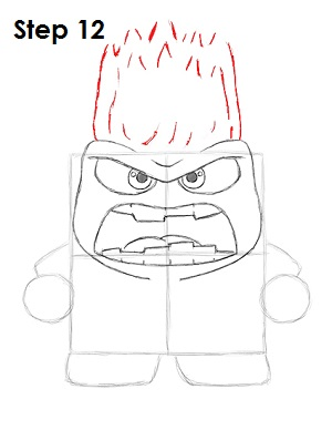 Draw Anger Inside Out 12