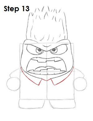 Draw Anger Inside Out 13