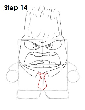 Draw Anger Inside Out 14