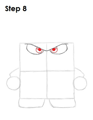 Draw Anger Inside Out 8