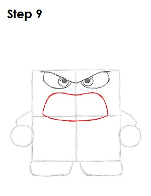 Draw Anger Inside Out 9