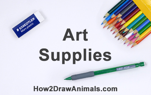 Art Drawing Supplies Materials List
