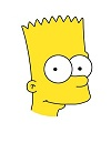 How to Draw Bart Simpson Head