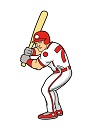 How to Draw Cartoon Baseball Player Batting