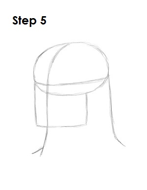 How to Draw Batman Step 5