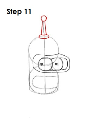 Draw Bender Step 11
