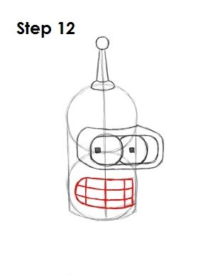 Draw Bender Step 12