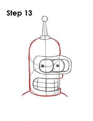 Draw Bender Step 13