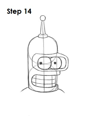 Draw Bender Step 14