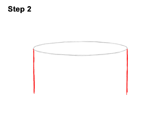 How to Draw Cartoon Birthday Cake Candle 2