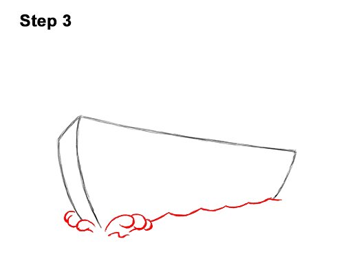 How to Draw Cartoon Boat Ship 3