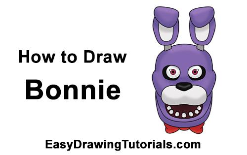 How to Draw Bonnie