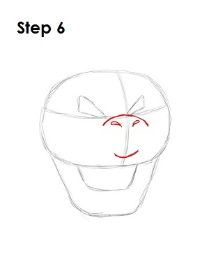 How to Draw Bowser Step 6