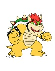 How to Draw Bowser Full Body Nintendo Super Mario