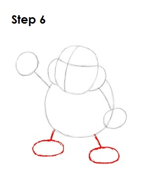 How to Draw Bowser Jr. Step 6