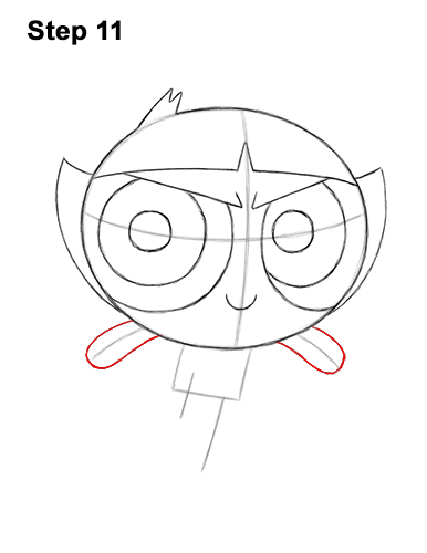 How to Draw Buttercup Powerpuff Girls Full Body 11