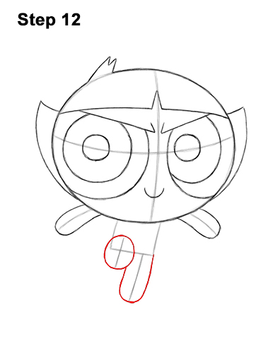 How to Draw Buttercup Powerpuff Girls Full Body 12