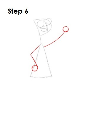 How to Draw Candace Step 6