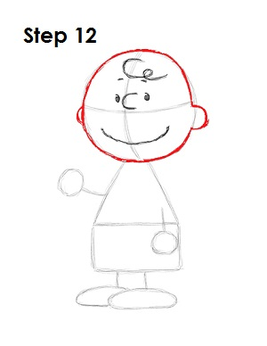 Draw Charlie Brown 12