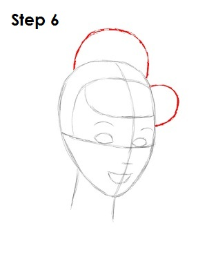 How to Draw Cinderella Step 6