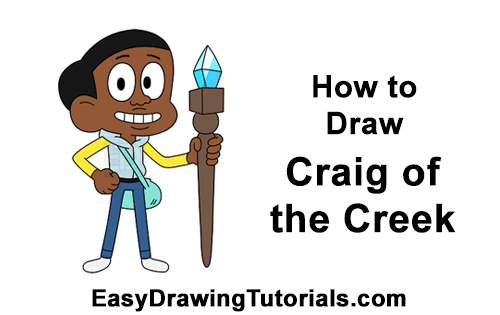 How to Draw Craig of the Creek Williams