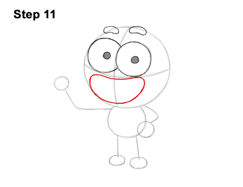 How to Draw Cricket Green Big City Greens 11