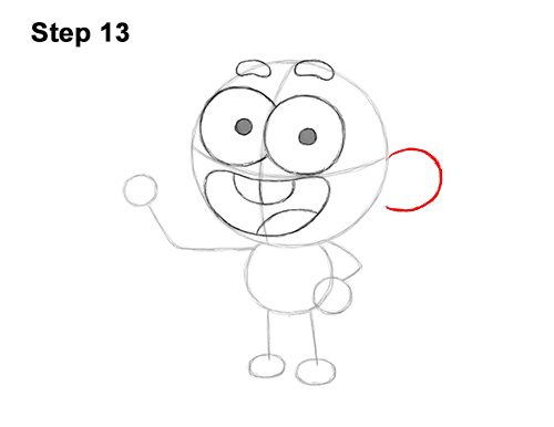 How to Draw Cricket Green Big City Greens 13