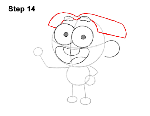How to Draw Cricket Green Big City Greens 14