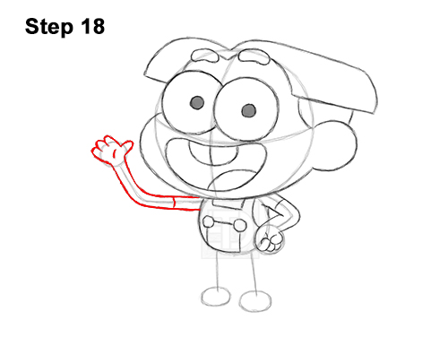 How to Draw Cricket Green Big City Greens 18