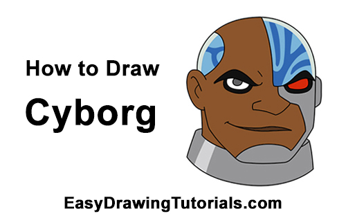 How to Draw Cyborg