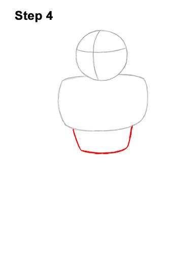 How to Draw Cyborg Teen Titans Go! Full Body 4