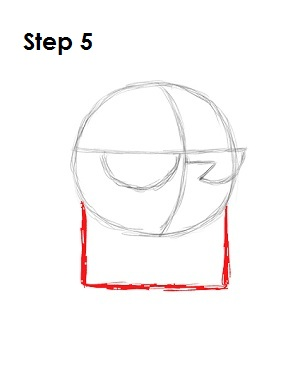 How to Draw Dexter Step 5