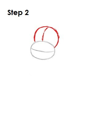 How to Draw Diddy Kong Step 2