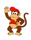 How to Draw Diddy Kong