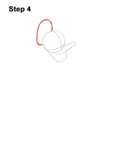 How to Draw Donald Duck Full Body 4