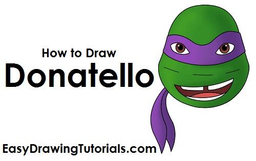 How to Draw Donatello
