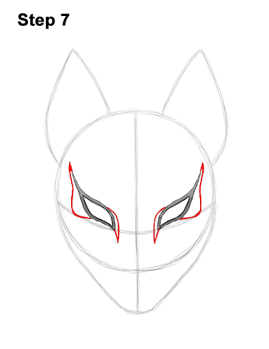 How to Draw Fortnite Max Drift Skin Mask 7