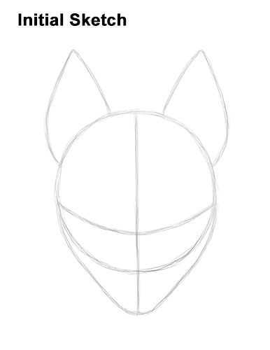 How to Draw Fortnite Max Drift Skin Mask Guide Lines