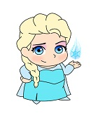 How to Draw Elsa (Frozen Mini)