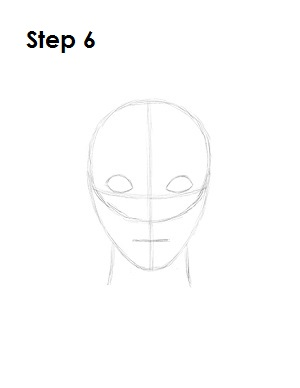 How to Draw Evil Queen Step 6