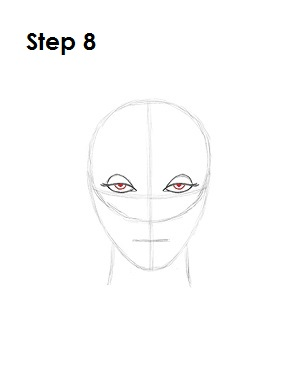 How to Draw Evil Queen Step 8