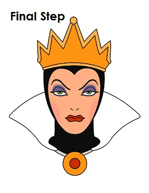 How to Draw Evil Queen