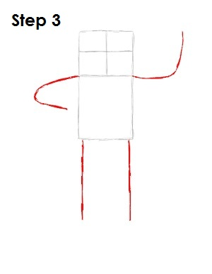 How to Draw Finn Step 3
