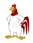 How to Draw a Foghorn Leghorn Rooster Looney Tunes Merrie Melodies