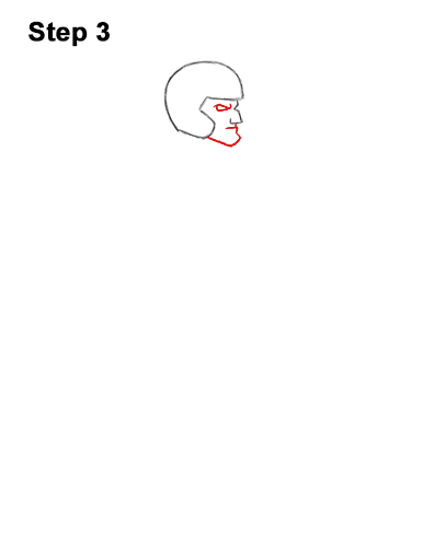 How to Draw a Cartoon Football Player Quarterback 3