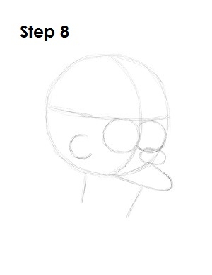 How to Draw Fry Step 8