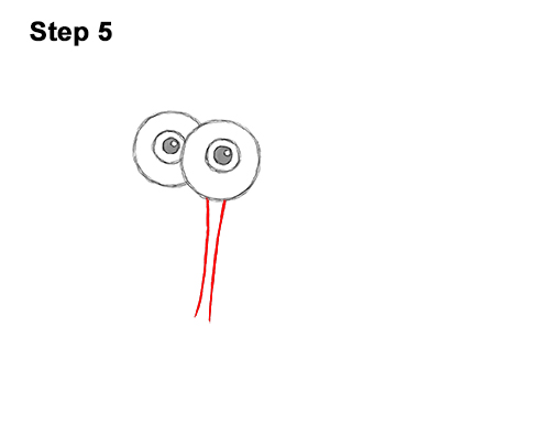 How to Draw Gary the Snail Spongebob Squarepants 5