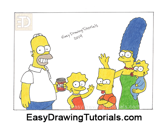 The Simpsons Drawing Giveaway